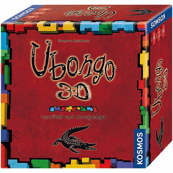 特價 含稅附發票 Ubongo 3D 烏邦果 方舟風雲會益智桌遊 實體店正版