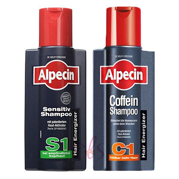 Alpecin 咖啡因洗髮露 S1溫和型/C1 250ml 兩款供選 ☆艾莉莎ELS☆