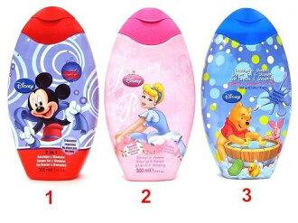 *新品上市*原裝進口 迪士尼洗髮沐浴露300ML 特惠價- 現貨