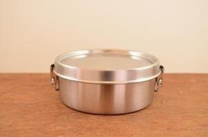 *新品上市*日本製 工房AIZAWA 不銹鋼便當盒 單層丸型環扣款-400ml-現貨
