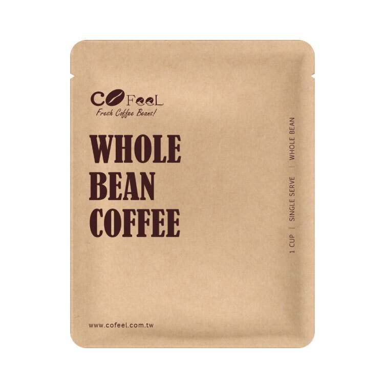CoFeel凱飛 小玩咖精選世界阿拉比卡單品咖啡豆20g隨身包(5種風味x20包)【比漾廣場】