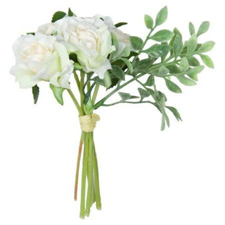 人造迷你白玫瑰花束 MINI ROSE