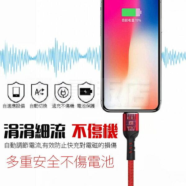 iPhone 充電線 5A 快充 Type-c Micro usb 編織線 快充線 蘋果 安卓 閃充 編織線 傳輸線 鋁合金 三色可選 4