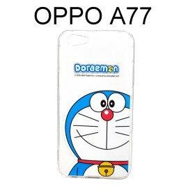 哆啦A夢空壓氣墊軟殼[大臉]OPPOA77小叮噹【正版授權】