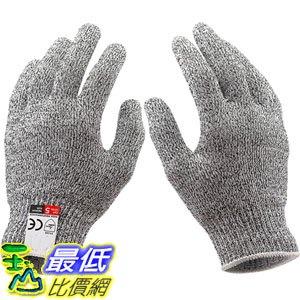 [107玉山最低 網] 家用廚房防切割手套 切菜殺魚 耐磨木工防刺5級安全手套