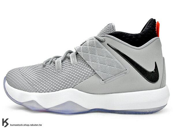 KUMASTOCK:2018年NBALeBRONJAMES子系列代言鞋款戶外專用鞋款NIKEAMBASSADORX10灰銀大使ZOOMAIR氣墊(AH7580-002)0118