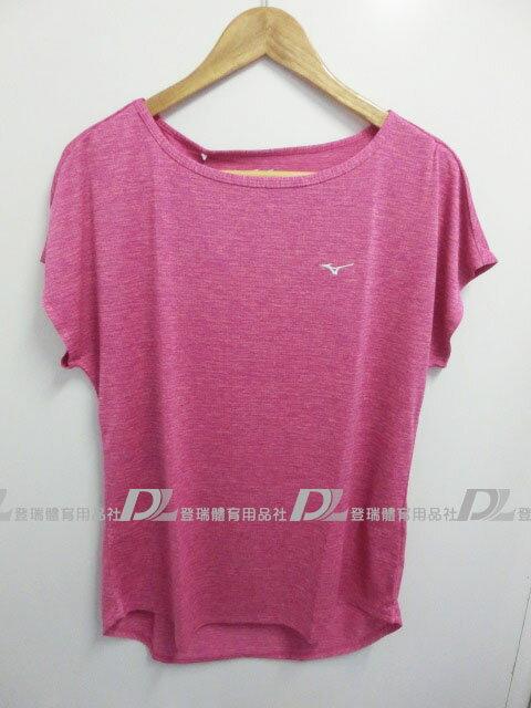 【登瑞體育】MIZUNO 女生短袖排汗T恤-K2TA670367