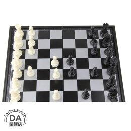 小型 西洋棋 折疊棋盤 歐洲 黑白 圍棋 訓練