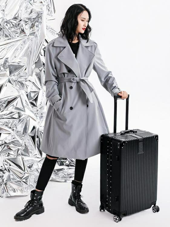 行李箱ULDUM旅行箱行李箱鋁框拉桿箱萬向輪20女男學生24密碼皮箱子20寸 LX 小城故事精選