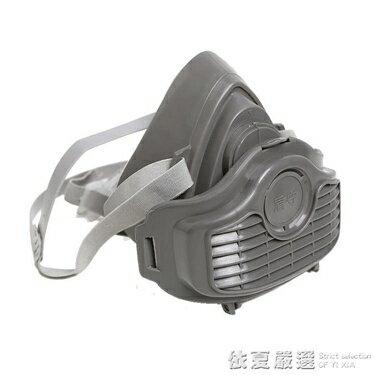 免運 防塵面具面罩防工業灰粉塵車間打磨煤礦裝修噴漆勞保透氣防塵口罩  韓國時尚週