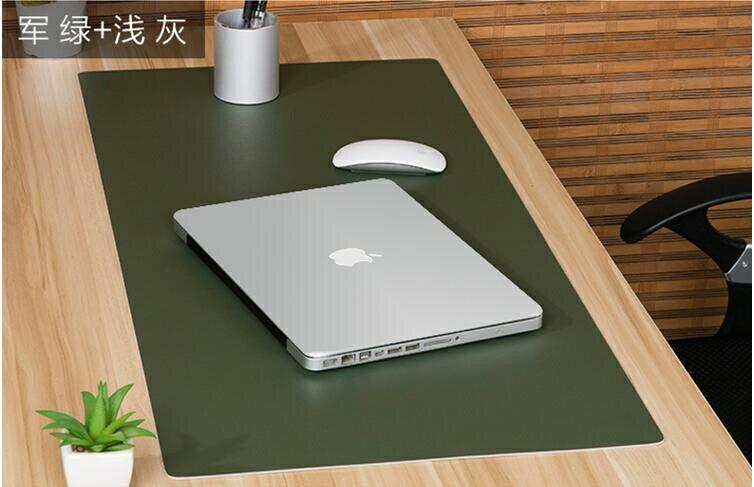 免運 辦公桌墊  大號滑鼠墊防水寫字墊超大皮革滑鼠墊辦公電腦墊可訂製