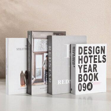免運 假書現代簡約假書仿真書裝飾品道具擺件家居創意北歐風格裝飾書殼擺設