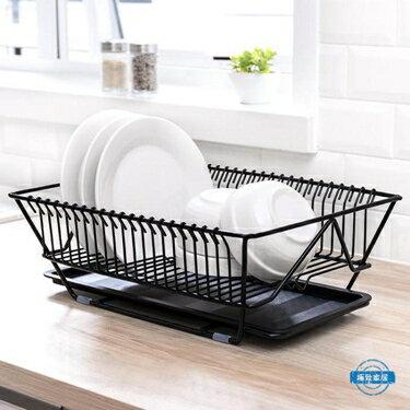 免運 瀝水架廚房碗筷餐具瀝水架水果蔬菜收納籃盤碗碟置物架子晾碗滴水架