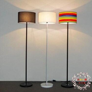 立燈落地燈臥室床頭溫馨可調光 簡約現代遙控LED客廳書房北歐立式臺燈 XW 尾牙年會禮物