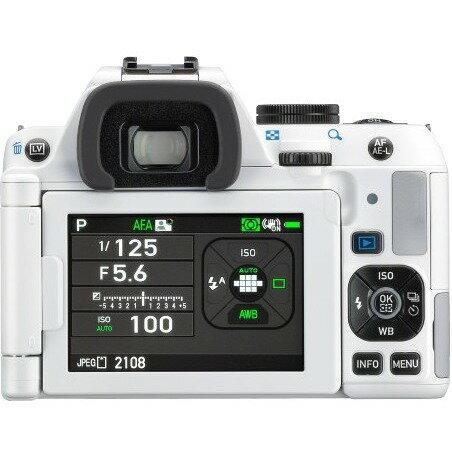 Pentax K-S2 DSLR Camera with 18-135mm Lens (White) 1