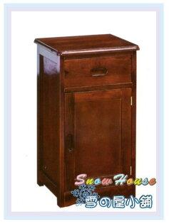 ╭☆雪之屋居家生活館☆╯AA567-03AR-615璽至一抽一門實木櫃置物櫃床頭櫃電話櫃收納櫃展示櫃斗櫃