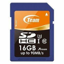 *╯新風尚潮流╭* TEAM十銓 16G 16GB SDHC C10 U3 600X TSDHC16GU301