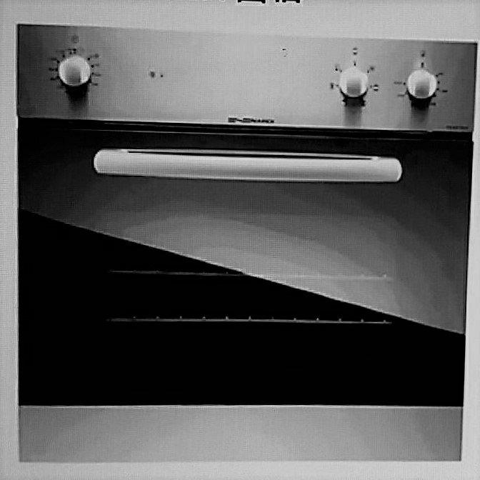 【零利率】櫻花 SVAGO 義大利製造 FEX07S62XS 崁入式烤箱 機械式操作旋鈕耐用 另售FDT1007A