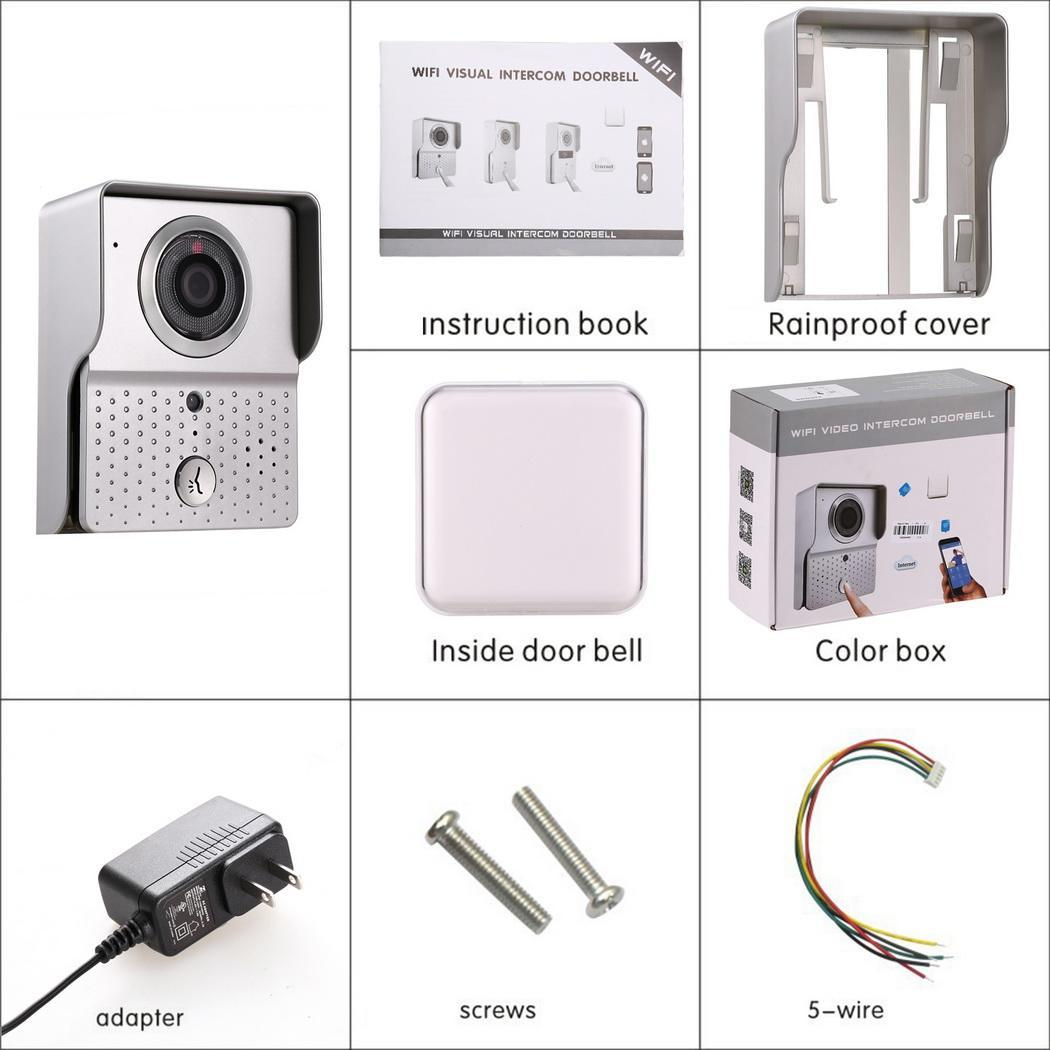 Wireless Enabled Video Visual Intercom Doorbell 3
