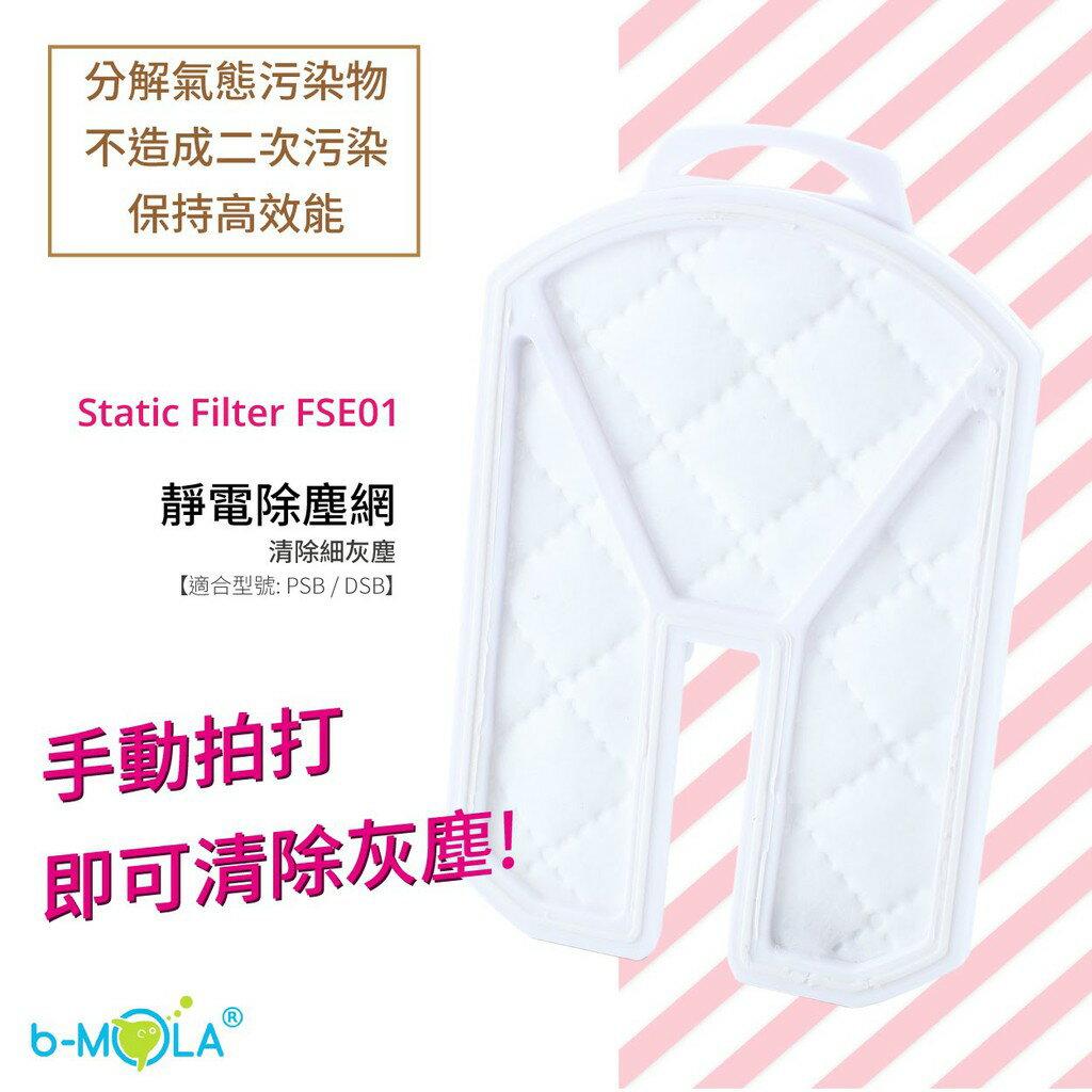 【西瓜籽】FSE01【b-MOLA】靜電除塵網 (每盒2件) 過濾 清淨 濾網 NCCO濾芯 PSB小球型替換濾網