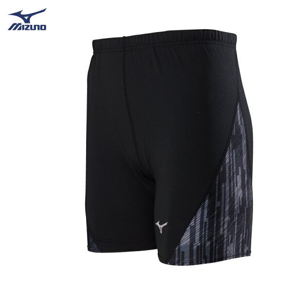 U2TB8G0109(黑)男短型緊身褲【美津濃MIZUNO】