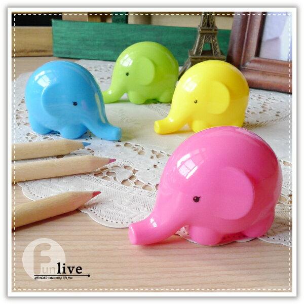 【aife life】大象削鉛筆機/可愛造型 療癒小物 簡易型削鉛筆器/色鉛筆/木頭鉛筆/辦公文具用品/贈品禮品