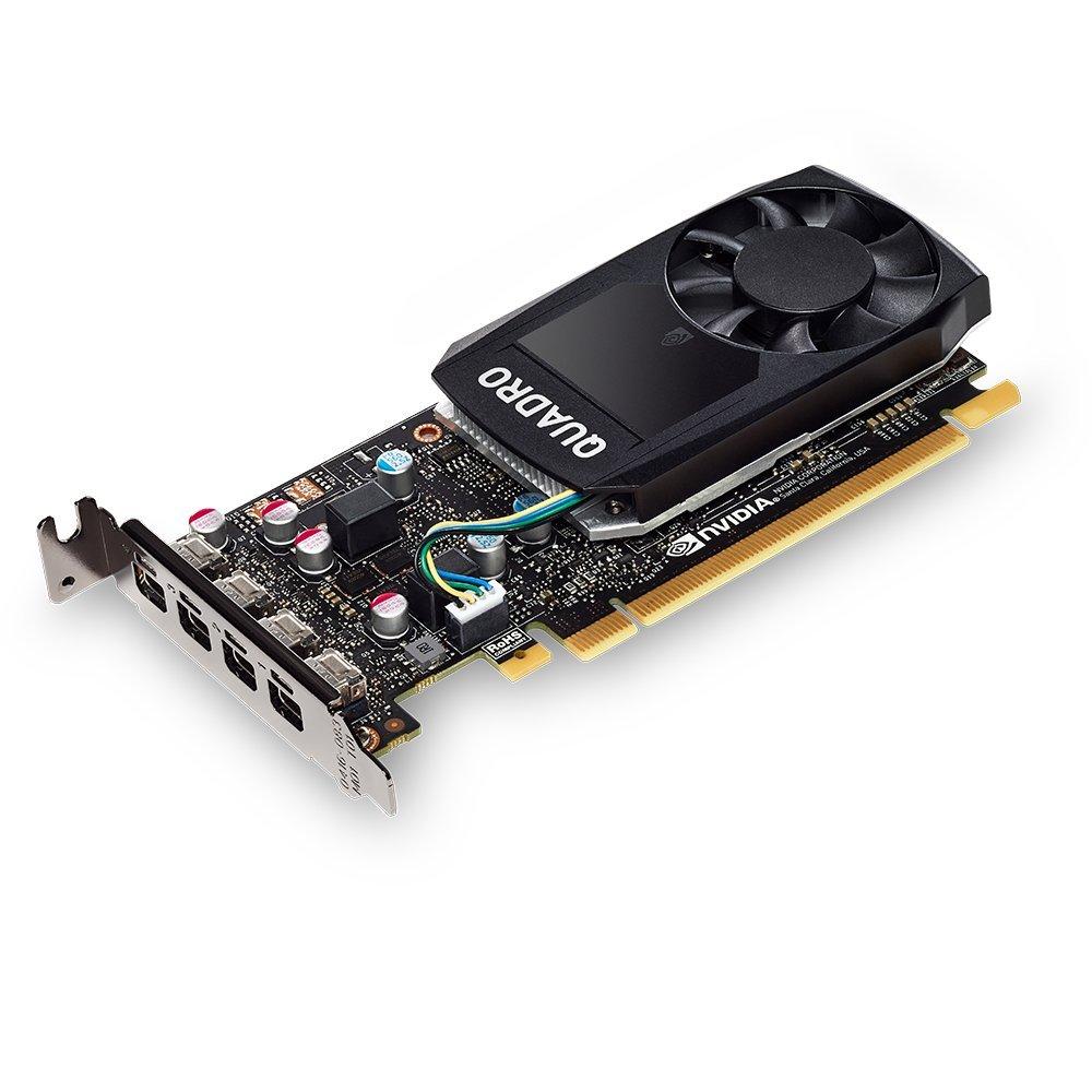 PNY Quadro P600 VCQP600-PB 2GB 128-bit GDDR5 PCI Express 3.0 x16 Video Card