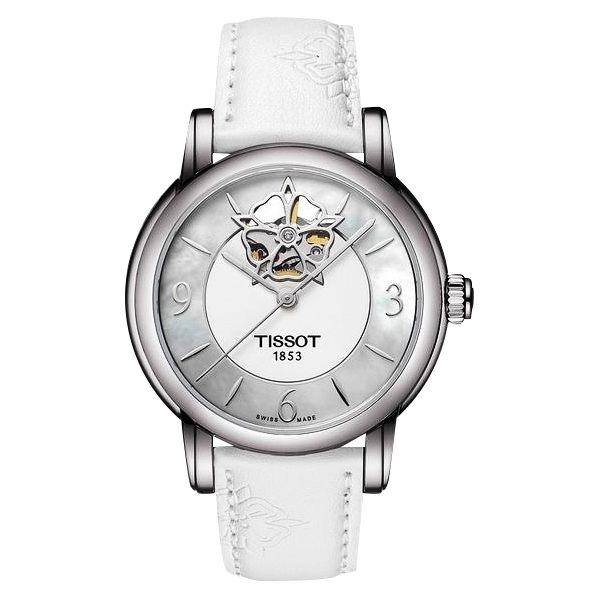 TISSOT天梭T0502071711704 開芯系列透視機械腕錶/珍珠面35mm