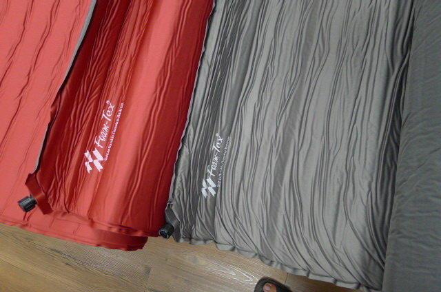 ├登山樂┤Foam-Tex 台灣製 雙氣嘴 自動充氣睡墊-8.9cm超厚款 #7619-257