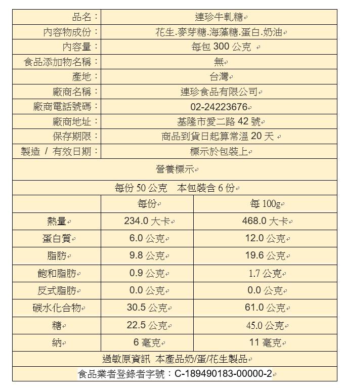 [年節好禮]牛軋糖半斤裝300g *2袋!!  特價含運↘499元 ★2019熱賣伴手禮推薦 2