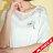 【maru.a】胸前送子鳥刺繡寬鬆下擺蕾絲透膚上衣(2色)8311224 4