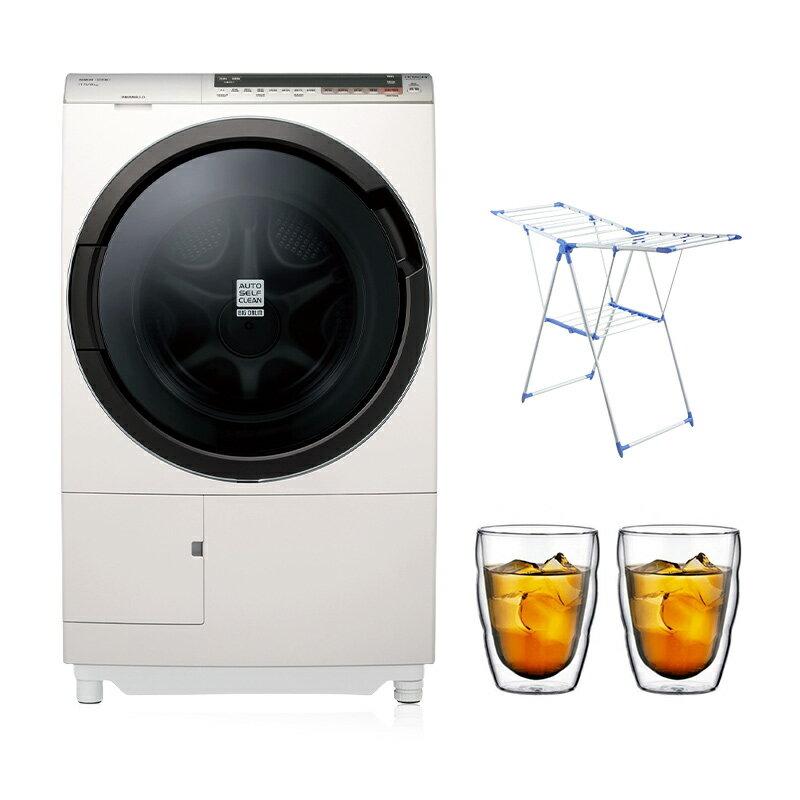 【贈基本安裝★好禮雙重送】HITACHI日立 滾筒式 洗脫烘 洗衣機 BDSX115CJ 11.5公斤 自動洗劑 日本製