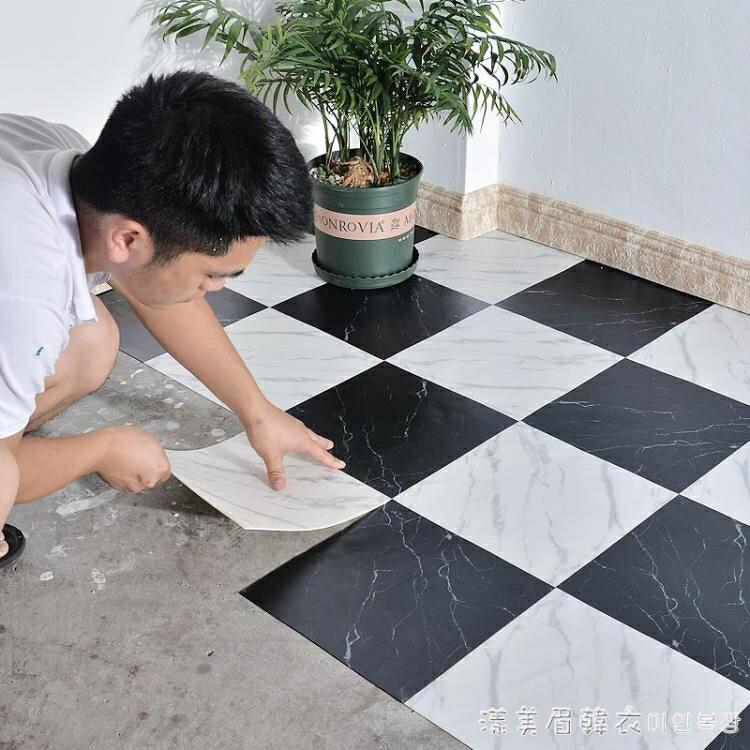 衛生間防水耐磨地貼廁所水泥地改造地磚貼紙浴室防滑裝飾地板貼紙