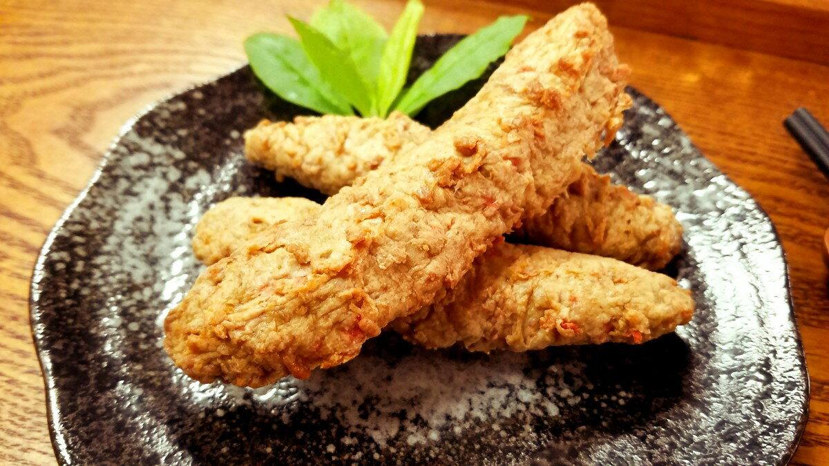 手工古早味黑輪條-【利津食品行】火鍋料 傳統 冷凍食品 宵夜好夥伴