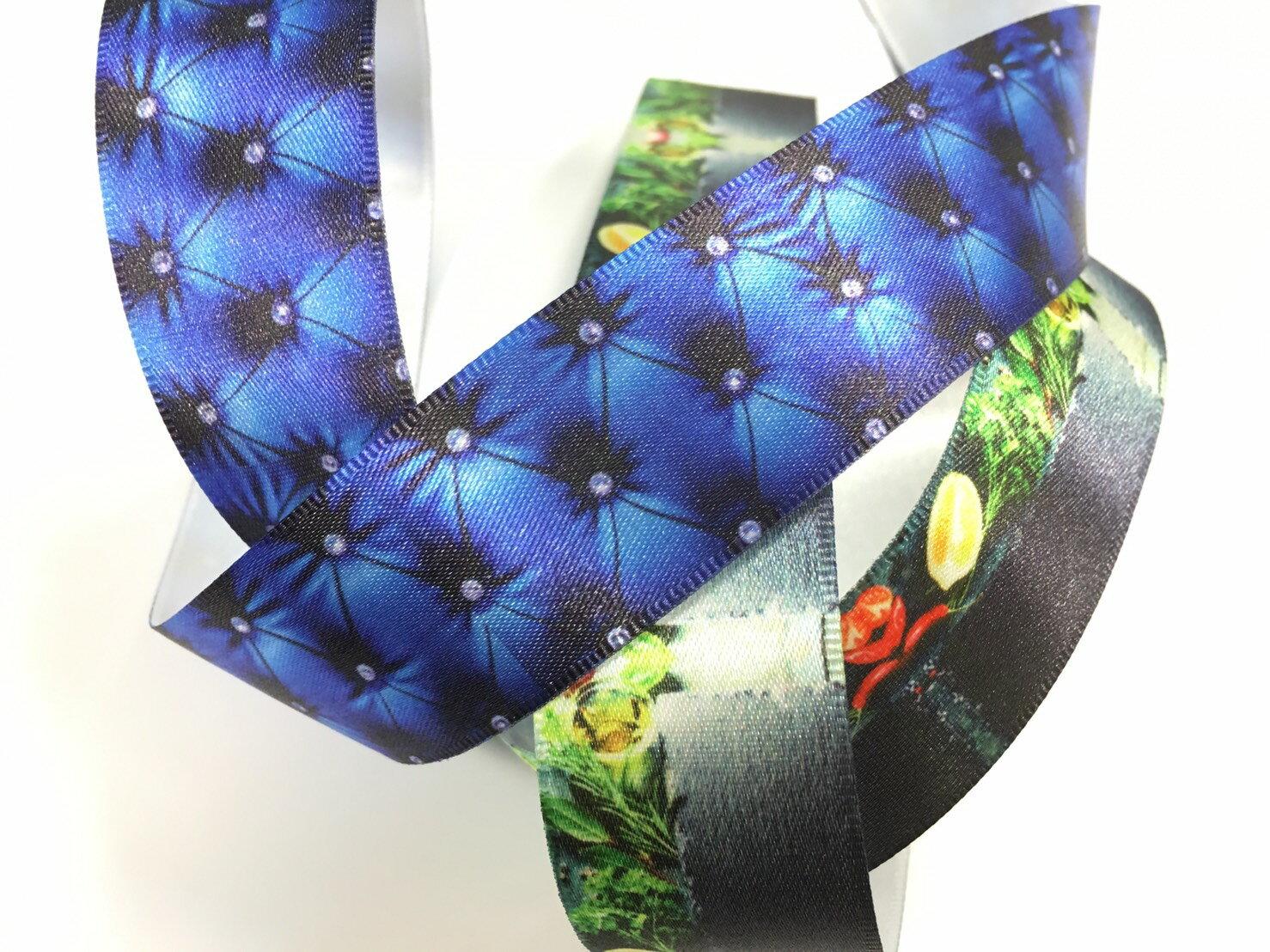 客製化緞帶 新科技新技術-全彩噴墨印刷 最低量100碼(請勿直接下單,歡迎電洽或來信詢問) 3