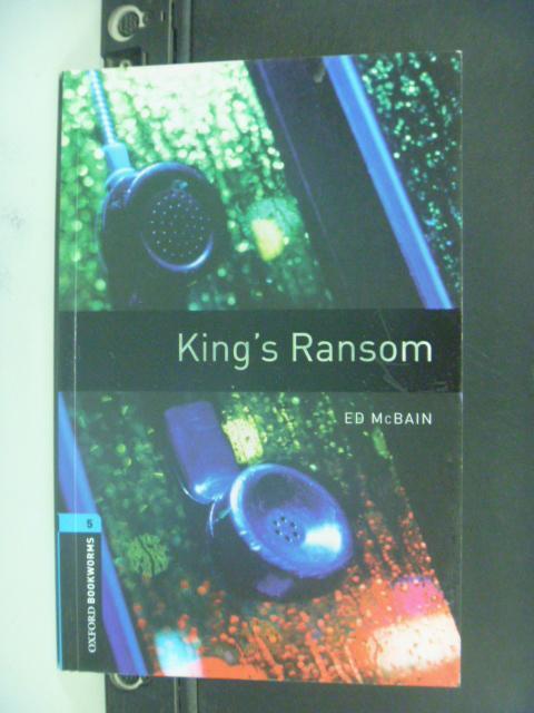 【書寶二手書T5/語言學習_NBX】King's Ransom_Ed McBain
