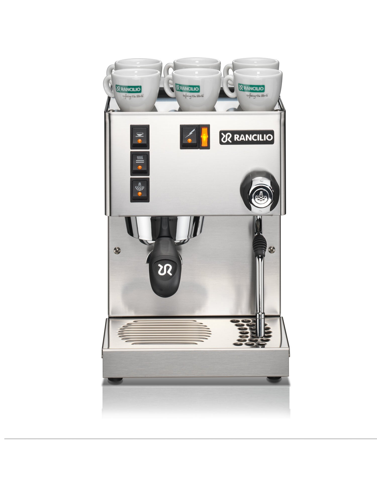 義大利原裝進口 RANCILIO SILVIA 半自動 單孔家用 咖啡機 公司貨 無改機服務