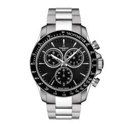 TISSOT天梭錶T1064171105100 QUICKSTER 經典計時錶/黑面42mm