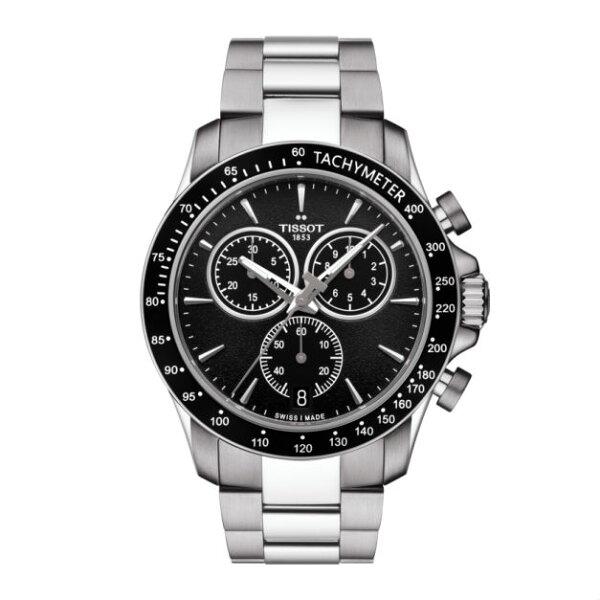 TISSOT天梭錶T1064171105100QUICKSTER經典計時錶黑面42mm