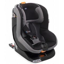 【淘氣寶寶●加贈寶寶嬰兒鞋架】ChiccoOasys1Isofix安全汽座夜幕黑【公司貨】