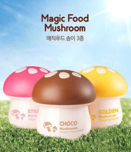 韓國 TONYMOLY 神奇蘑菇系列面膜 巧克力/草莓/金菇 三款供選 ☆真愛香水★ 另有兔兔唇膏