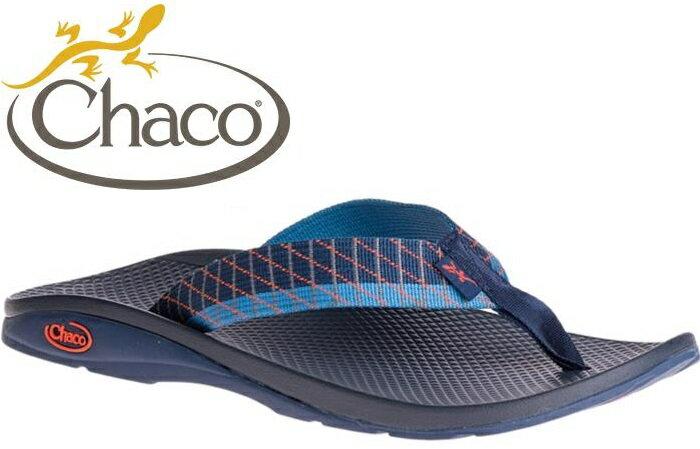 Chaco 夾腳拖鞋/海灘拖/戶外運動涼鞋-沙灘款 男 美國佳扣 CH-ETM01 HD26 滑行藍