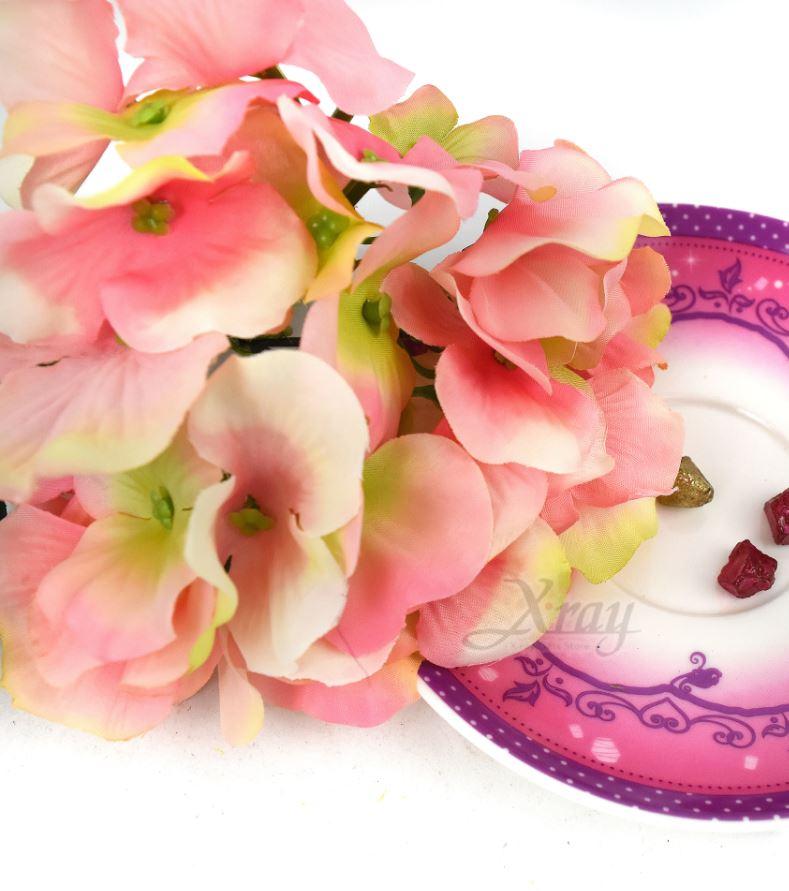 X射線【Y079201】一頭繡球花束-深粉,仿真花 人造花 園藝 家飾 婚禮小物 佈置 裝飾 幼兒園 送禮 配件 髮飾 活動佈置 花束 花園 陽台