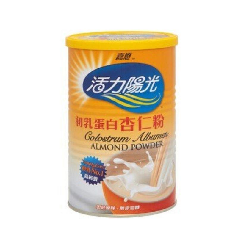 嘉懋活力陽光初乳蛋白杏仁粉500g/瓶