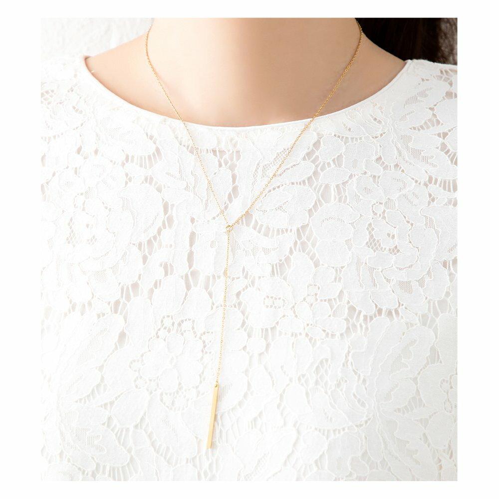 日本Cream Dot  /  典雅Y字項鍊  /  p00016  /  日本必買 日本樂天代購  /  件件含運 7