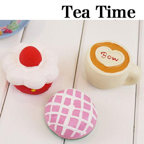【小樂寵】下午茶時間!花式點心乳膠發聲玩具.三款