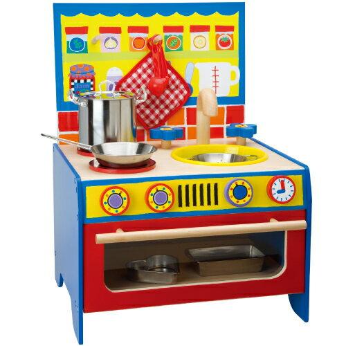 【美國ALEX】我的快樂廚房 ◎贈送:小廚師工具組(市價980元)
