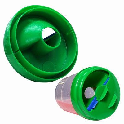 【美國ALEX】防溢出洗筆杯組(1個)~杯蓋顏色隨機出貨,不挑色