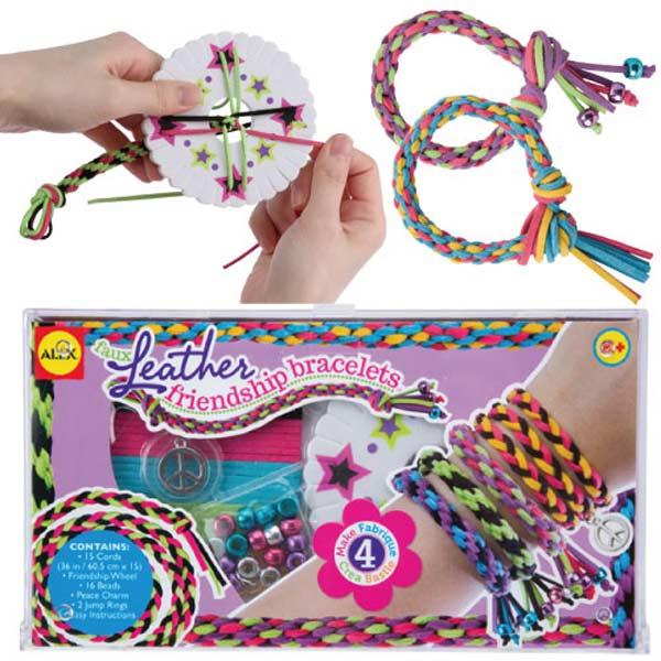 【美國ALEX】DIY手環編織器(嬉皮組)