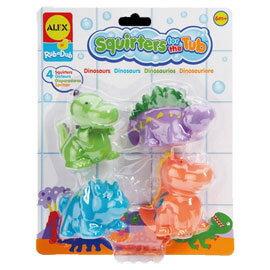 【美國ALEX】可愛噴水洗澡玩具-恐龍
